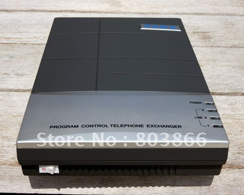 Telephone PBX switch factory supply CS416  with 4 lines +16 output phone ports