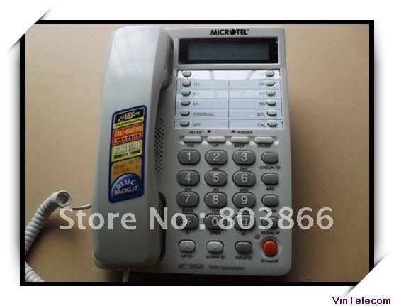Office Telephone Set / analog Telephone / Handsets for PBX System