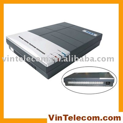 Telephone pbx system / switch CS416 ( 4lines and 16 extensions )
