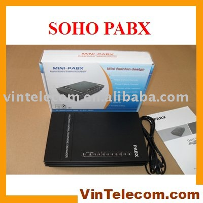 SOHO PBX / Small PBX / MINI PABX / PABX-for small businss solution-Promotion