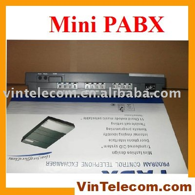 Telephone switch pbx system - China factory directly supply CS308 - 3 Lines x 8 phone ext. - Hot sell