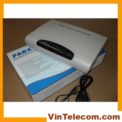 CP416 Telephone pabx system 4Lines and 16 Extensions - free shipping